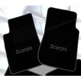Automatten Ford Scorpio in hoogwaardig velours met logo Scorpio