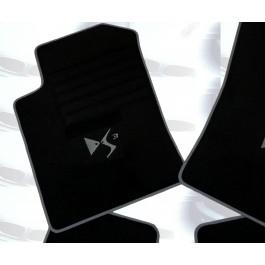"""Automatten Citroen DS3 in hoogwaardig velours met logo """"DS3"""""""