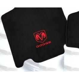 Automatten Dodge  in hoogwaardig velours Met logo Dodge