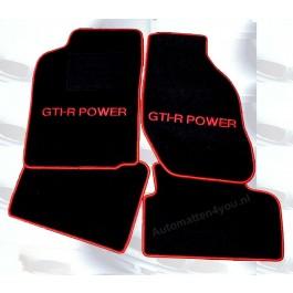 Automatten in hoogwaardig velours met logo GTI-R Power