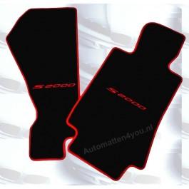 Automatten Honda S2000 in hoogwaardig velours met logo