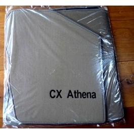Automatten Citroen CX in hoogwaardig velours met logo CX Athena