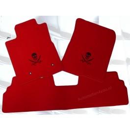 """Automatten TOYOTA Corralla Verso met logo """"Piraat"""""""