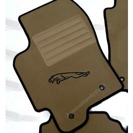 Automatten Jaguar hoogwaardig velours logo (2)