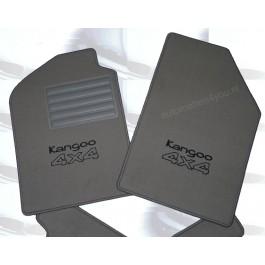Automatten Renault Kangoo hoogwaardig velours met logo