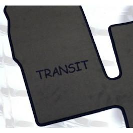 Automatten FORD Transit in hoogwaardig velours met logo