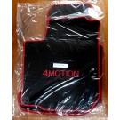 """Automatten in hoogwaardig velours met logo """"4Motion"""""""