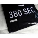 """Automatten Mercedes W126 in velours met logo """"380SEC""""(2)"""