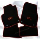 "Automatten Astra in hoogwaardig velours met logo ""GTC"""