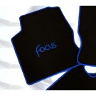 Automatten FORD FOCUS in hoogwaardig velours logo FOCUS 2