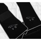 Automatten Jaguar hoogwaardig velours logo 3