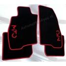 """Automatten ALFA in hoogwaardig velours met logo """"MiTo"""" (2)"""