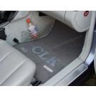"Automatten Mercedes CLK in velours met logo ""CLK 320"""
