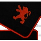 Automatten Peugeot in hoogwaardig velours met Peugeot logo (2)