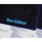 """Automatten met logo """"Blue Edition"""" in hoogwaardig velours"""