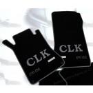 "Automatten Mercedes CLK in velours met logo ""CLK 270 CDI"""