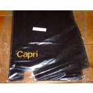 Automatten Ford Capri in hoogwaardig velours met logo Capri