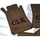 "Automatten Mercedes CLK in velours met logo ""CLK 240"" 1"