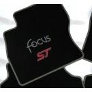 Automatten FORD FOCUS in hoogwaardig velours met logo FOCUS ST