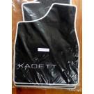 Automatten in hoogwaardig velours met logo Kadett