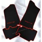 Automatten in hoogwaardig velours met logo Kadett SR