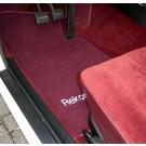 Automatten in hoogwaardig velours met logo Rekord Berlina
