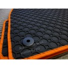 Pasvorm rubber automatten voor uw Skoda Fabia
