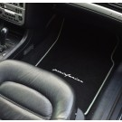 "Automatten Volvo C70 in hoogwaardig velours met logo ""pininfarina"""