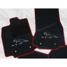Jaguar mattenset in hoogwaardig velours logo panter + SV8