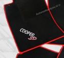 Automatten Mini cooper in hoogwaardig velours met logo COOPER SD
