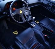 Automatten Ferrari in hoogwaardig velours met logo 2