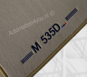 Automatten BMW met M type aanduiding, let op: vul zelf uw eigen model in !