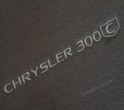 Automatten Chrysler 300 C hoogwaardig velours met logo (2)
