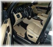 Automatten Range Rover Sport in hoogwaardig velour met logo