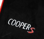 Automatten Mini in hoogwaardig velours met logo COOPER S