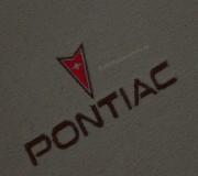 Automatten Pontiac in hoogwaardig velours met Pontiac logo